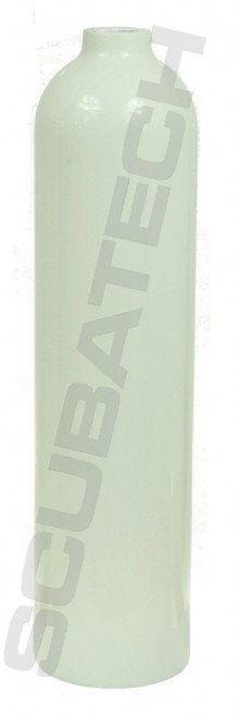 Butla aluminiowa 7L Polaris biała, płaszcz