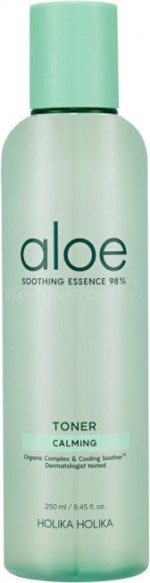 Holika Holika Aloe Soothing Essence Toner Tonik nawilżający z aloesem 250 ml
