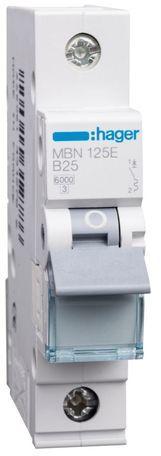 Wyłącznik nadprądowy 1P B 25A 6kA AC MBN125E
