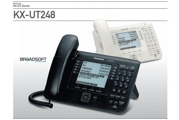 Panasonic KX-UT248 NE Telefon przewodowy SIP