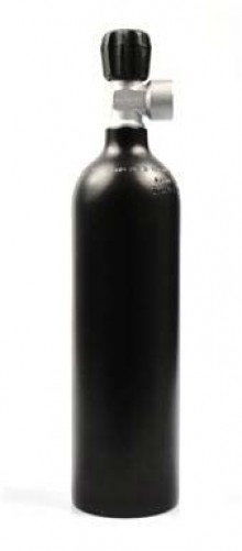 Butla aluminiowa 0,85L LUXFER, z poj. zaworem