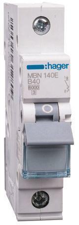 Wyłącznik nadprądowy 1P B 40A 6kA AC MBN140E