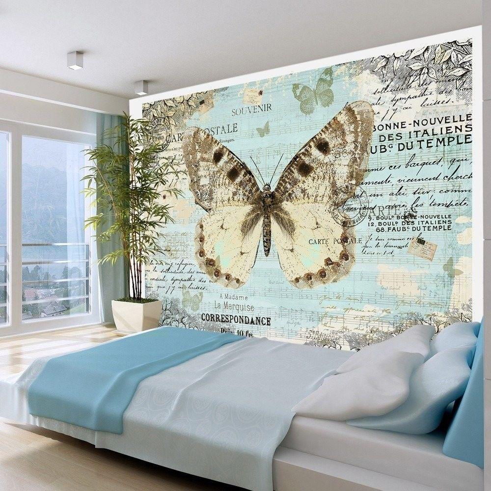 Fototapeta - pocztówka z motylem