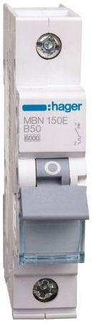 Wyłącznik nadprądowy 1P B 50A 6kA AC MBN150E
