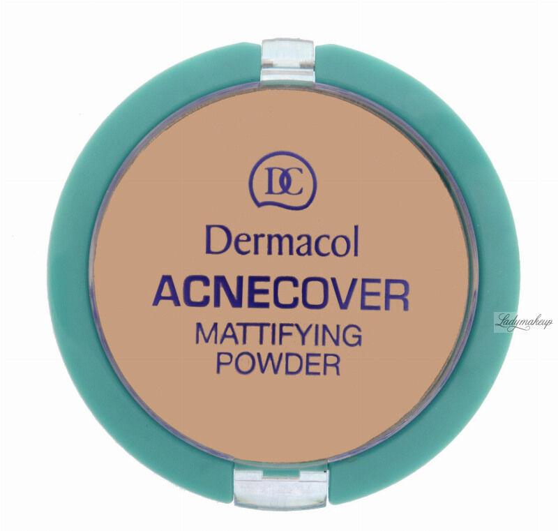 Dermacol - Acnecover Mattifying Powder - Puder matujący - HONEY