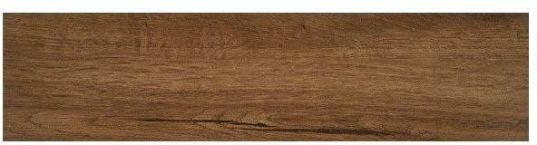 Gres szkliwiony Suomi 15,5 x 62 cm brown 1,15 m2
