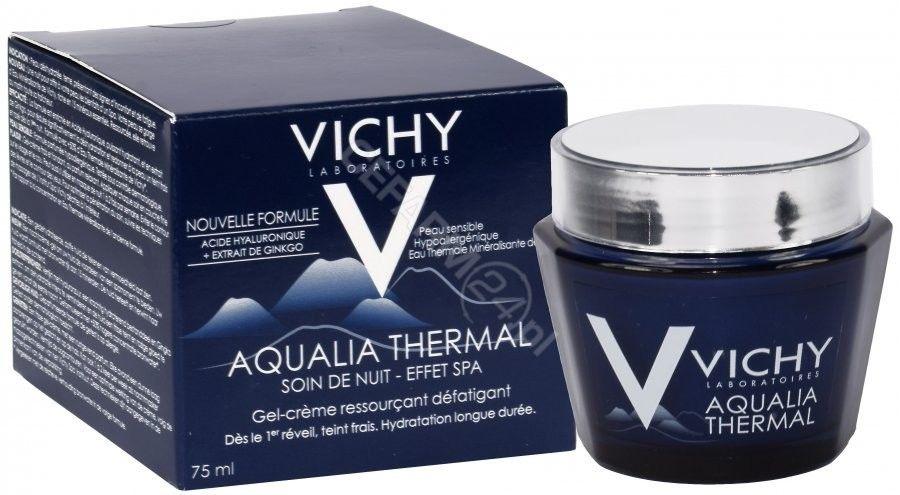 Vichy Aqualia Thermal Spa krem intensywnie nawilżający na noc przeciw oznakom zmęczenia 75 ml + do każdego zamówienia upominek.