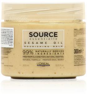 Loreal Source Essentielle Sesame Oil Nourishing Balm Maska do włosów suchych i uwrażliwionych 300 ml