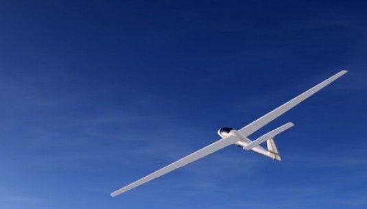 Lot szybowcem - Nowy Targ - przy wzlocie za wyciągarką