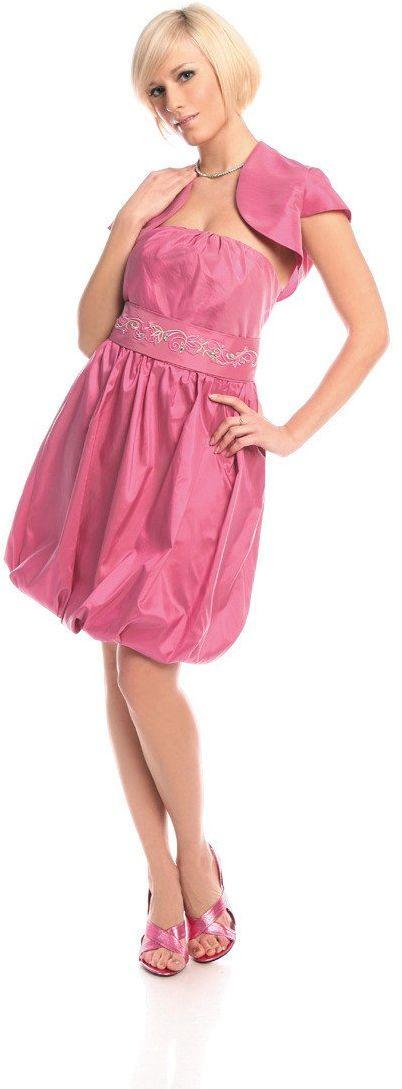 Sukienka FSU173 AMARANTOWY JASNY