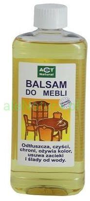 ACT NATURAL Balsam do pielęgnacji mebli i drewna 500ml