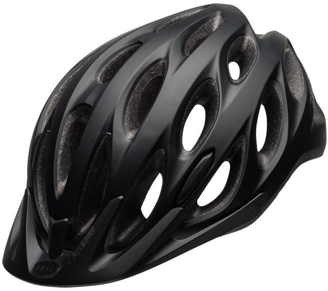 BELL TRACKER - BEL-7082027 - kask rowerowy czarny Rozmiar: 54-61,BELL TRACKER black