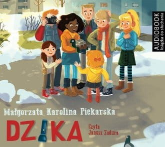 Dzika Małgorzata Karolina Piekarska Audiobook mp3 CD