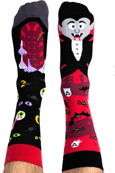 Skarpety kolorowe z serii Happy Friends Socks wampir Bloody Hel