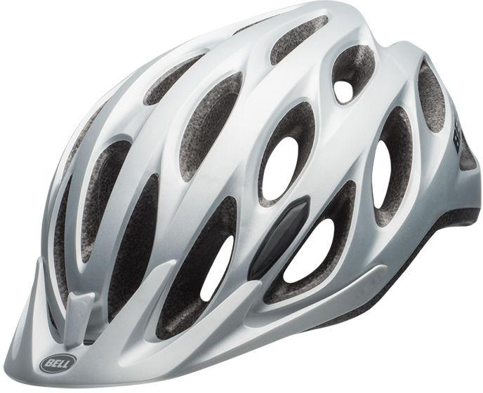 BELL TRACKER - BEL-7082031 - kask rowerowy srebrny Rozmiar: 54-61,BELL TRACKER silver