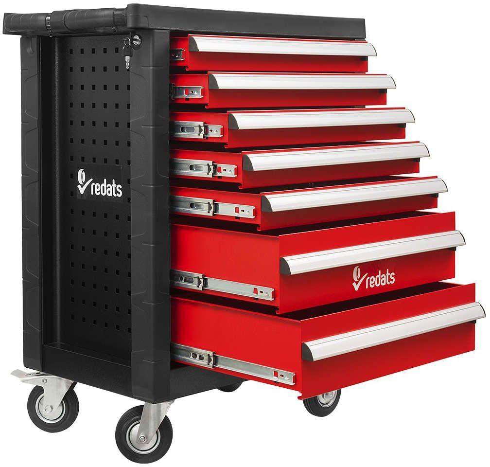 Profesjonalna szafka narzędziowa Redats 7 szuflad