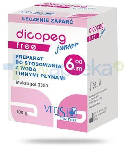 Dicopeg Junior Free od 6. miesiąca życia proszek 100 g