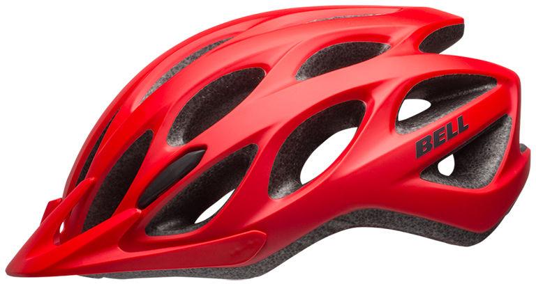 BELL TRACKER - BEL-7082029 - kask rowerowy czerwony Rozmiar: 54-61,BELL TRACKER red