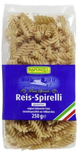 Makaron ryżowy razowy ŚWIDERKI bezglutenowy BIO 250 g Rapunzel