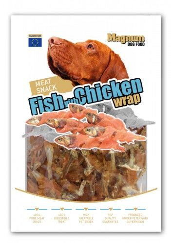 Fish With Chicken Wrap 80g [16566]