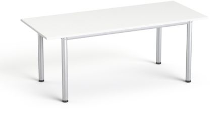 Stół konferencyjny 190x80 cm SV-42 SMB Biały