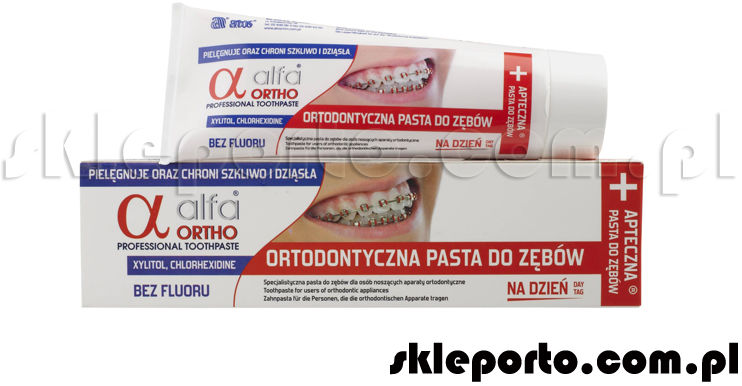 Alfa Ortho Dzień pasta ortodontyczna 75 ml - asortyment ortodontyczny