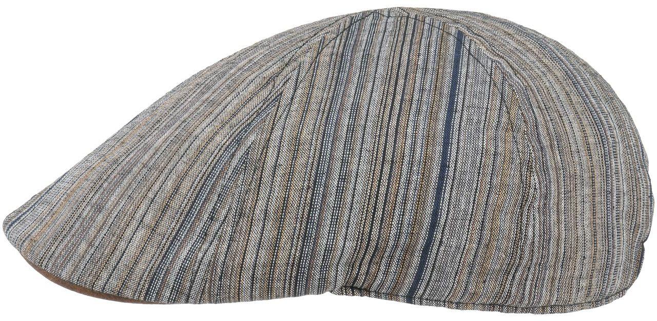 Płaski Kaszkiet Linen Rayon Gatsby by Lipodo, brązowy, cm