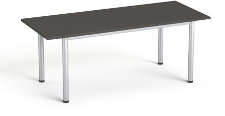 Stół konferencyjny 190x80 cm SV-42 SMB Grafit