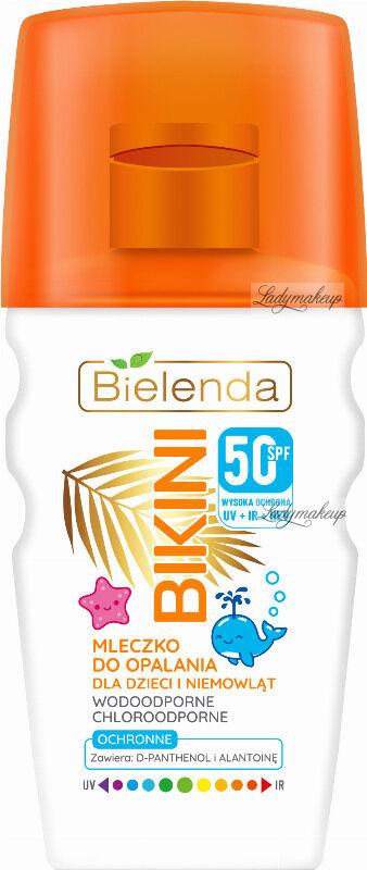Bielenda - BIKINI - Ochronne mleczko do opalania dla dzieci i niemowląt - WODOODPORNE - SPF50 - 150 ml