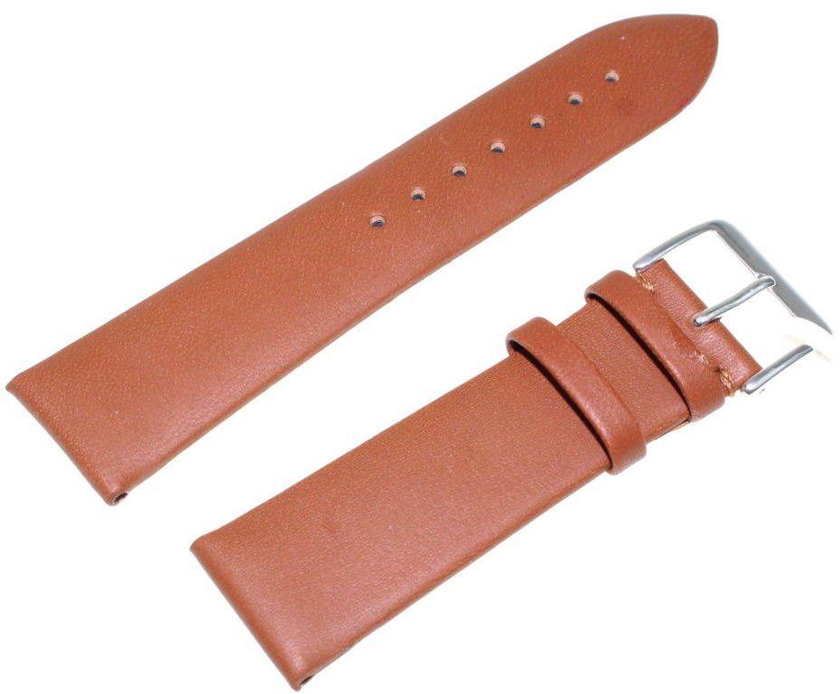 Skórzany pasek do zegarka 22 mm JVD R21103-22