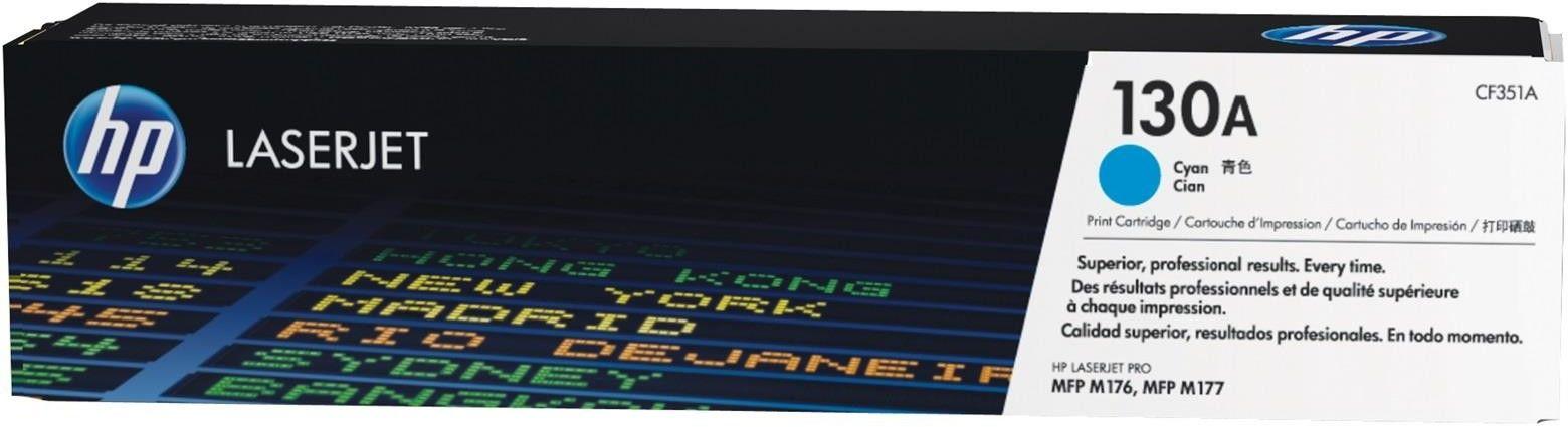 HP 130A (CF351A) - oryginalny toner Xerox, cyan (cyan) + 50 zł karta paliwowa ORLEN GRATIS