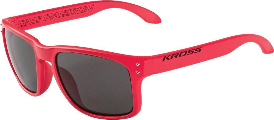 Okulary Kross Podium czerwone