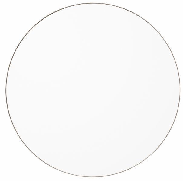 AYTM - CIRCUM Lustro Ścienne Okrągłe 110 cm Taupe - Tafla Klasyczna