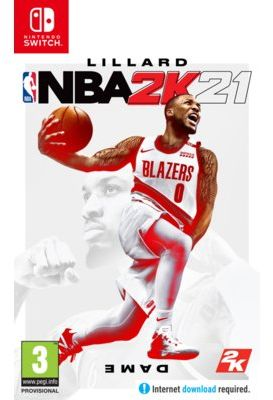 Gra Nintendo Switch NBA 2K21