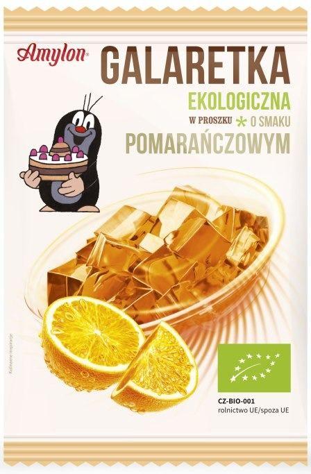 Galaretka Pomarańczowa Ekologiczna 40g - Amylon