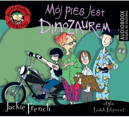 Mój pies jest dinozaurem Jackie French Audiobook mp3 CD