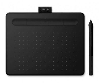 Tablet graficzny WACOM Intuos S Pen and Bluetooth Czarny CTL-4100WLK-N. AKCESORIA W ZESTAWIE DO 40%! ODBIÓR W 29 min! DARMOWA DOSTAWA DOGODNE RATY SPRAWDŹ!
