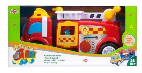 Wóz strażacki 30 cm Dickie Efekty Świetlne Dźwięki