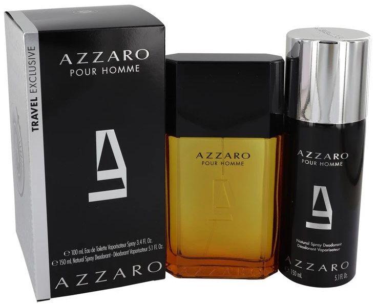 SET AZZARO Pour Homme EDT spray 100ml + DEO spray 150ml