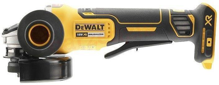 akumulatorowa bezszczotkowa szlifierka kątowa 125mm, 18V Li-Ion w walizce DeWALT [DCG406NT]
