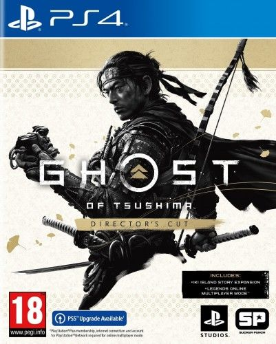 Ghost of Tsushima Director''s Cut PS 4