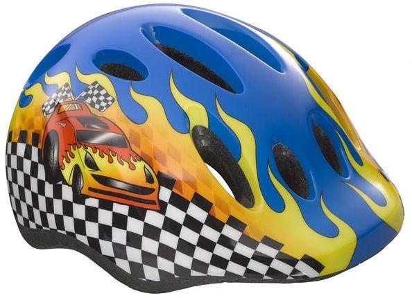 LAZER - kask dziecięcy MAX PLUS - samochód wyścigowy Rozmiar: 49-56,LAZER MAX PLUS-samochód wyścigowy