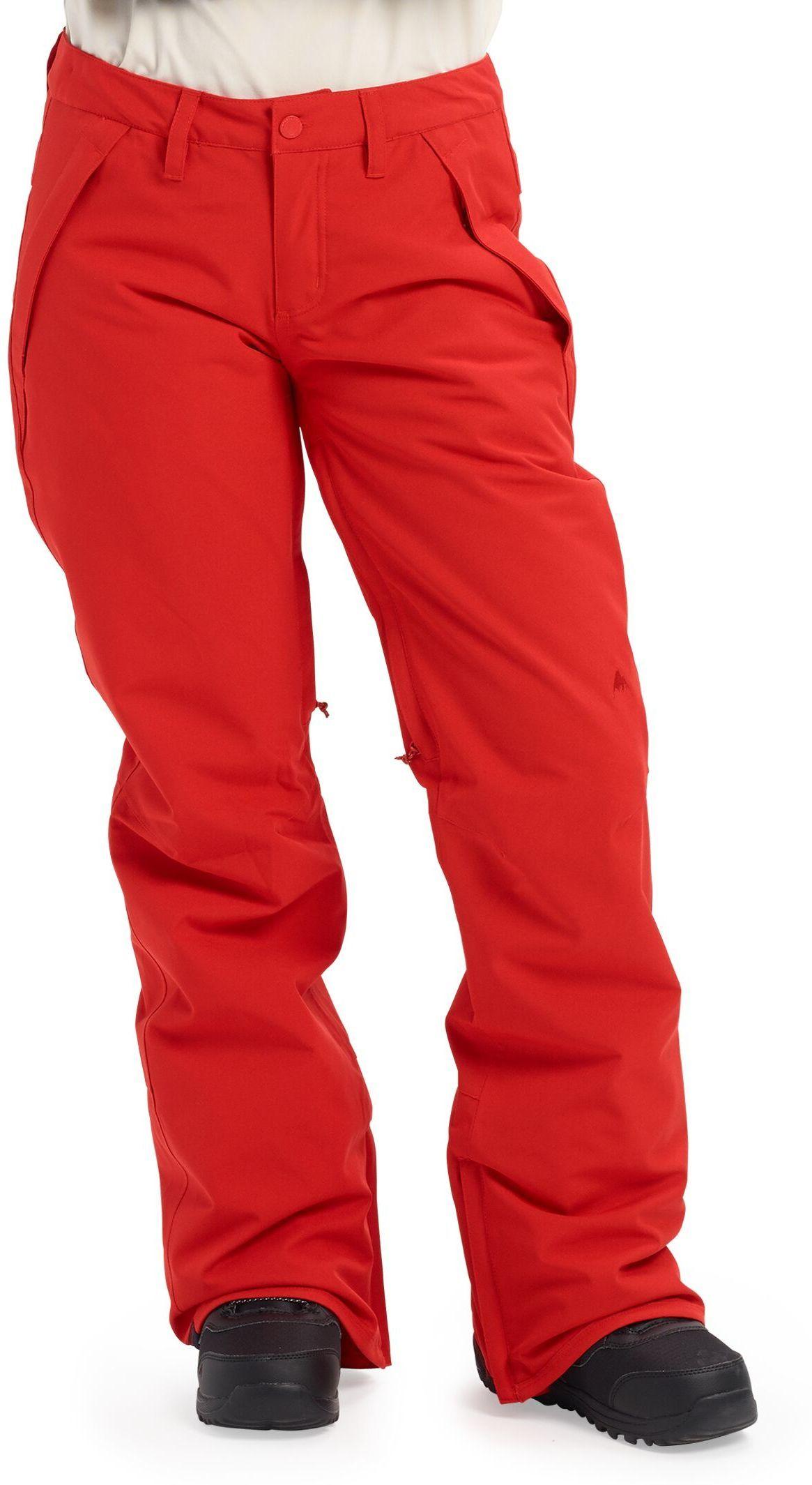 zimowe spodnie damskie BURTON SOCIETY PT Flame Scarlet