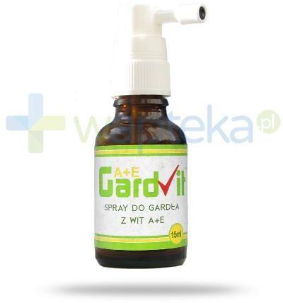 GardVit A+E spray do gardła 15 ml