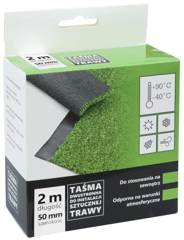 Dwustronna taśma klejąca do sztucznej trawy 50 mm x 2 m