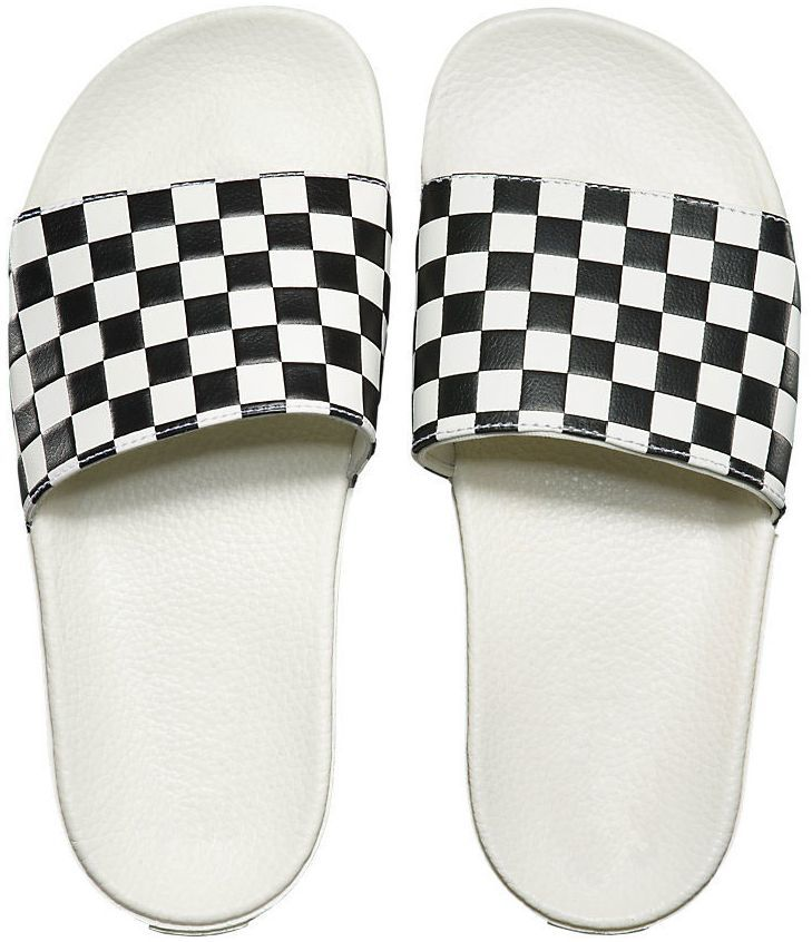 kapcie VANS SLIDE-ON (CHECKERBOARD) White