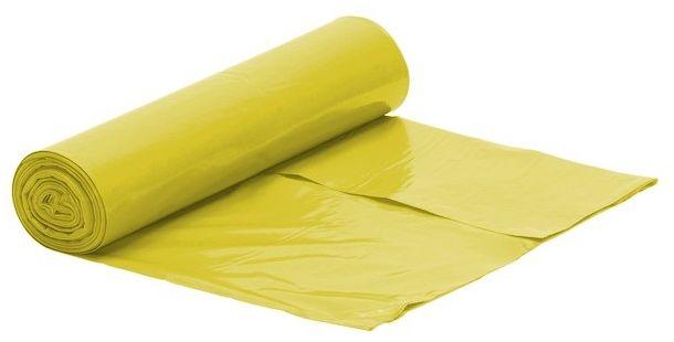 Worek żółty na śmieci LDPE 120L/rolka 25 szt