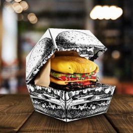 Skarpetki hamburger