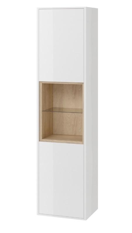Excellent Tuto szafka boczna wysoka 40x160x32cm biały dąb MLEX.0201.400.WHBL