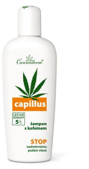 CANNADERM Szampon przeciw wypadaniu włosów z kofeiną Capillus 150ml